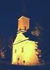 Szent Margit Templom este